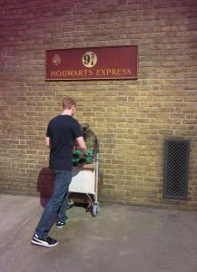 harry potter studios - gleis 9 3/4