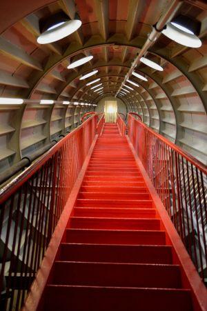 Inside the Atomium